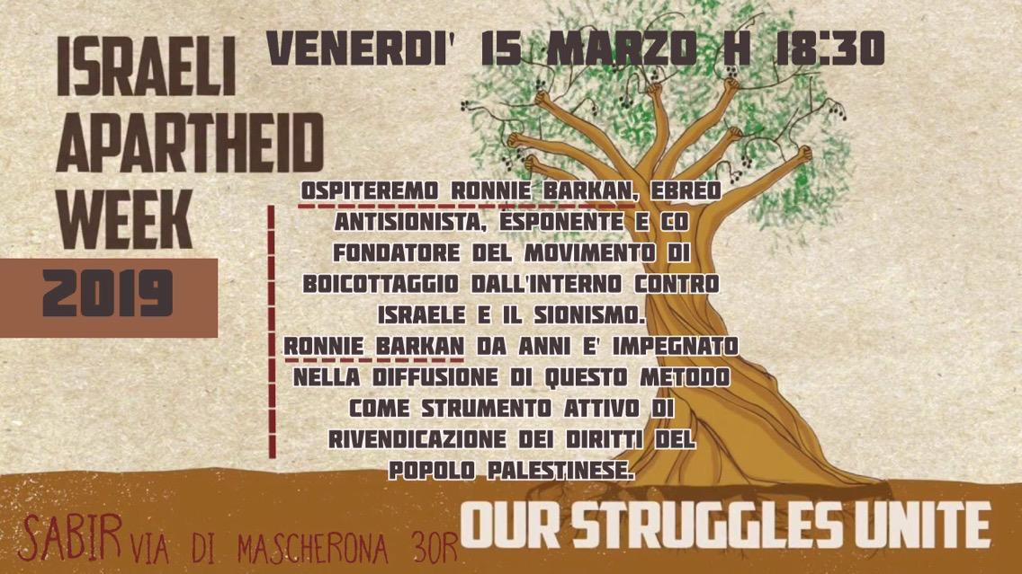 Unite Genova Calendario.Iaw 2019 Genova Palestina Rossa